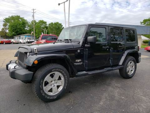 2009 Jeep Wrangler Unlimited for sale in North Lima, OH