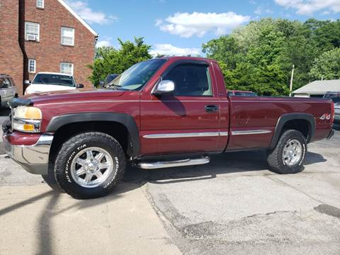 2002 GMC Sierra 1500 for sale in North Lima, OH