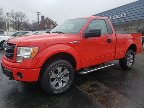 2013 Ford F-150 STX for sale at COLONIAL AUTO SALES in North Lima OH