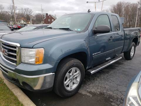 2013 GMC Sierra 1500 SLE for sale at COLONIAL AUTO SALES in North Lima OH