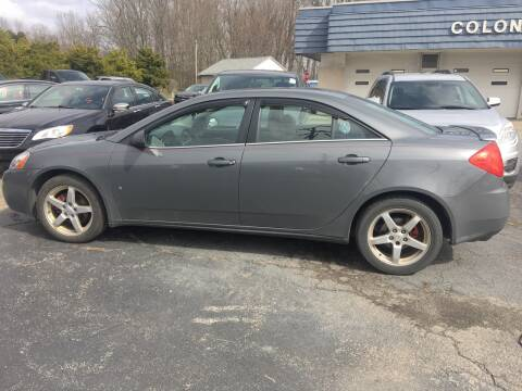 2008 Pontiac G6 for sale at COLONIAL AUTO SALES in North Lima OH