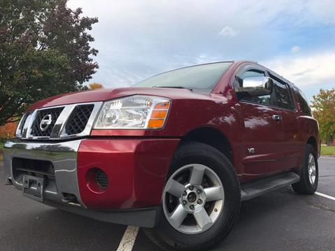 2006 Nissan Armada for sale in Leesburg, VA