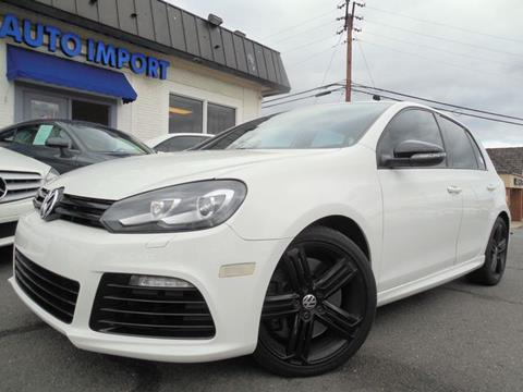 2012 Volkswagen Golf R for sale in Leesburg, VA