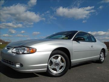 2001 Chevrolet Monte Carlo for sale in Leesburg, VA