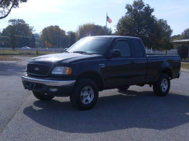 2002 ford f 150 xlt 4dr supercab 4wd styleside sb in evansville in fred 39 s used cars. Black Bedroom Furniture Sets. Home Design Ideas