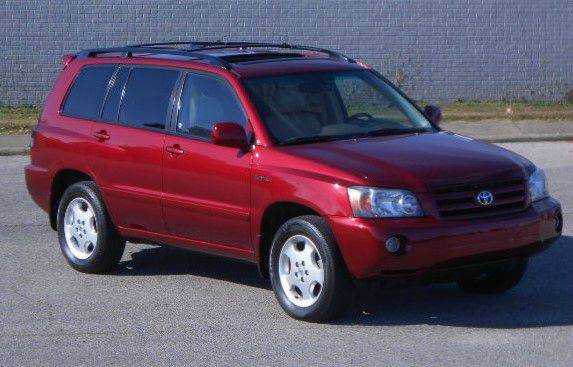 2005 toyota highlander limited awd 4dr suv w 3rd row in evansville in fred 39 s used cars. Black Bedroom Furniture Sets. Home Design Ideas