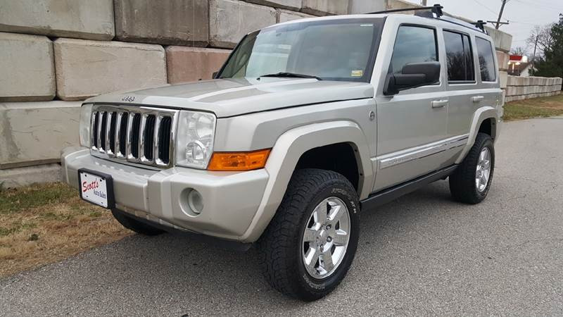 2007 Jeep Commander Limited 4X4 For Sale Page 2 - CarGurus