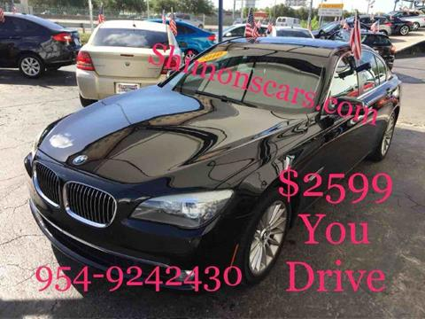 2010 BMW 7 Series for sale in Hollywood, FL