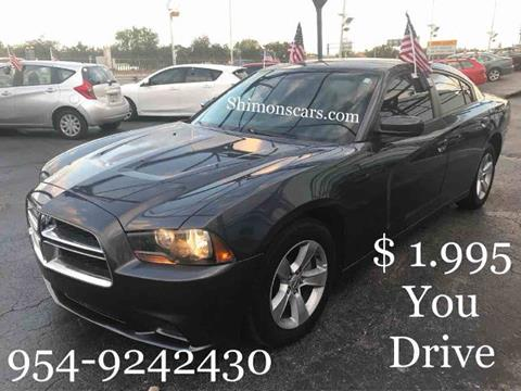 2013 Dodge Charger for sale in Hollywood, FL