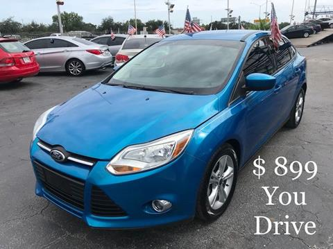 2012 Ford Focus for sale in Hollywood, FL
