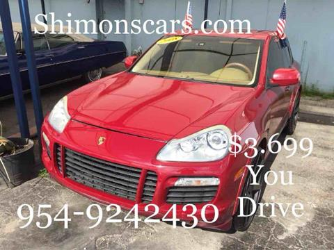 2008 Porsche Cayenne for sale in Hollywood, FL