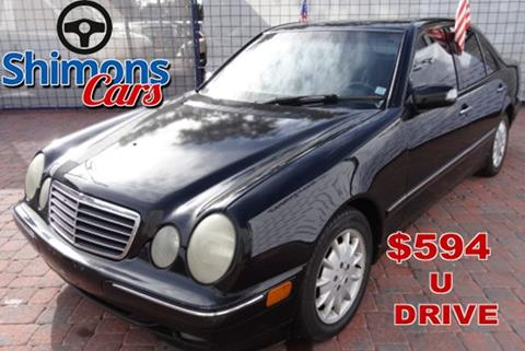 2000 Mercedes-Benz E-Class for sale in Hollywood, FL