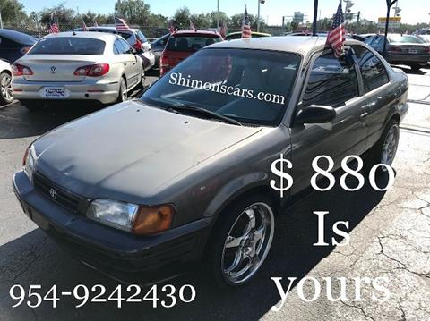 1996 Toyota Tercel for sale in Hollywood, FL