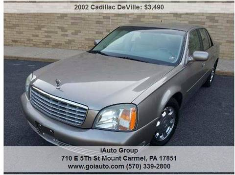 2002 Cadillac DeVille for sale in Mount Carmel, PA