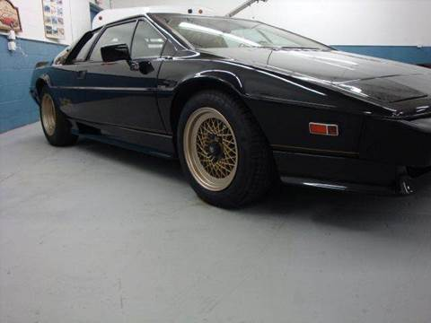 1985 Lotus Esprit for sale at Great Lakes Classic Cars in Hilton NY