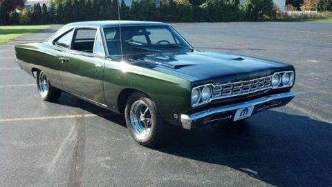 1968 Plymouth Roadrunner for sale at Great Lakes Classic Cars & Detail Shop in Hilton NY