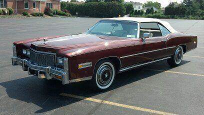 1976 Cadillac Eldorado for sale at Great Lakes Classic Cars in Hilton NY