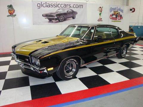 1972 Buick GS 455 GSX for sale at Great Lakes Classic Cars in Hilton NY