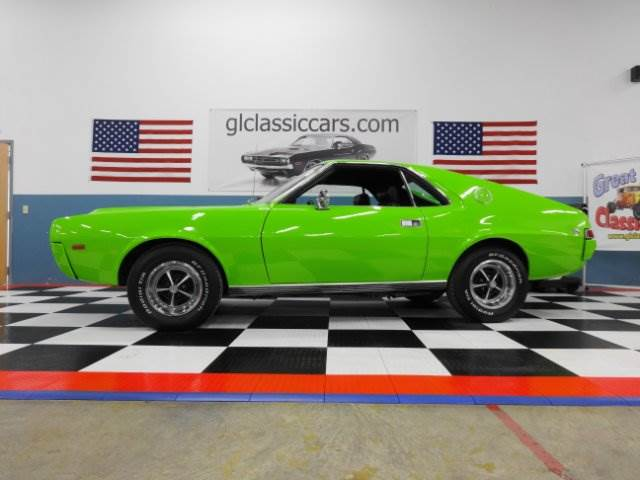 1969 AMC AMX 390 for sale at Great Lakes Classic Cars & Detail Shop in Hilton NY