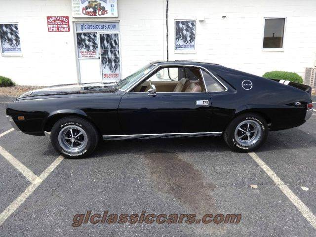 1968 AMC AMX 390 for sale at Great Lakes Classic Cars & Detail Shop in Hilton NY