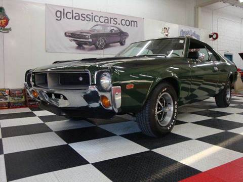 1969 AMC Javelin for sale at Great Lakes Classic Cars & Detail Shop in Hilton NY