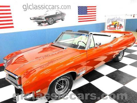 1968 Buick Gran Sport for sale at Great Lakes Classic Cars & Detail Shop in Hilton NY