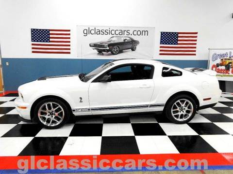 2007 Ford Mustang for sale at Great Lakes Classic Cars & Detail Shop in Hilton NY
