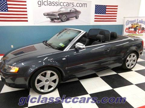2005 Audi S4 for sale at Great Lakes Classic Cars in Hilton NY