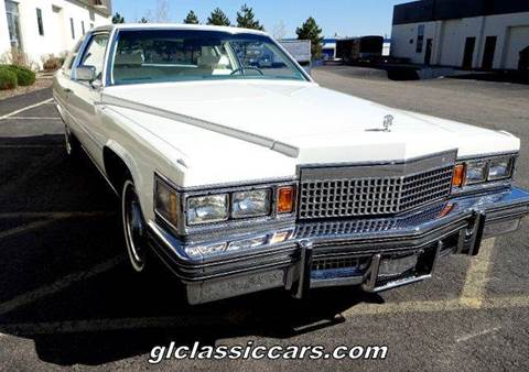 1979 Cadillac DeVille for sale at Great Lakes Classic Cars & Detail Shop in Hilton NY