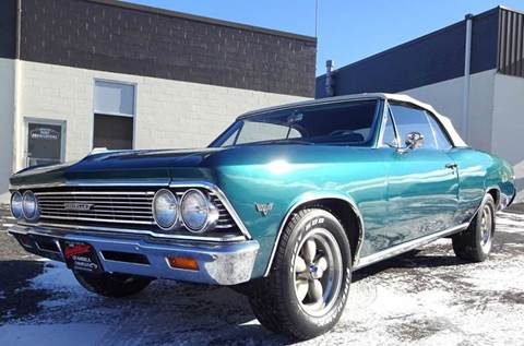 1966 Chevrolet Chevelle Malibu for sale at Great Lakes Classic Cars & Detail Shop in Hilton NY