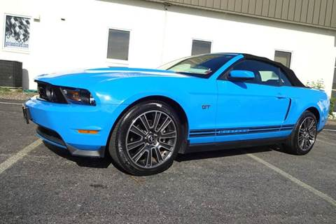 2010 Ford Mustang for sale at Great Lakes Classic Cars in Hilton NY