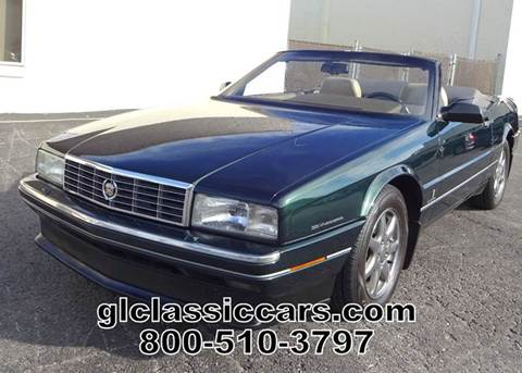1993 Cadillac Allante for sale at Great Lakes Classic Cars & Detail Shop in Hilton NY