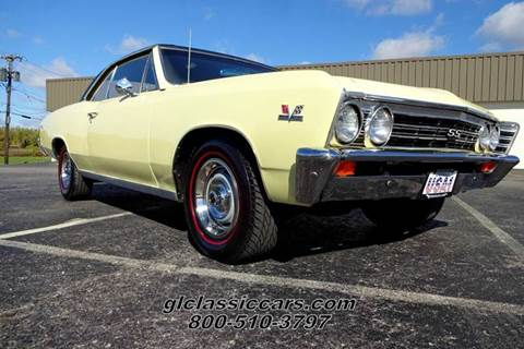 1967 Chevrolet Chevelle for sale at Great Lakes Classic Cars & Detail Shop in Hilton NY