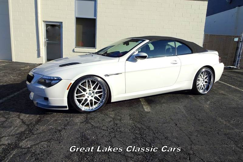 2008 BMW M6 for sale at Great Lakes Classic Cars & Detail Shop in Hilton NY