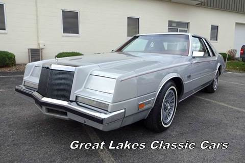1982 Chrysler Imperial for sale at Great Lakes Classic Cars & Detail Shop in Hilton NY