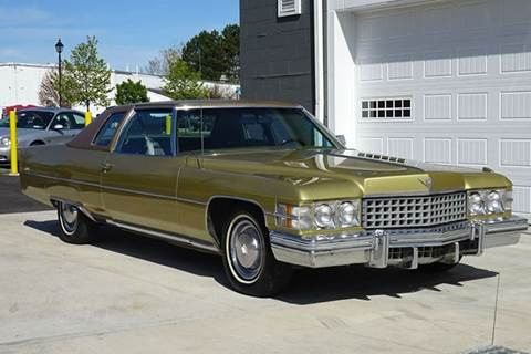 1974 Cadillac DeVille for sale at Great Lakes Classic Cars & Detail Shop in Hilton NY