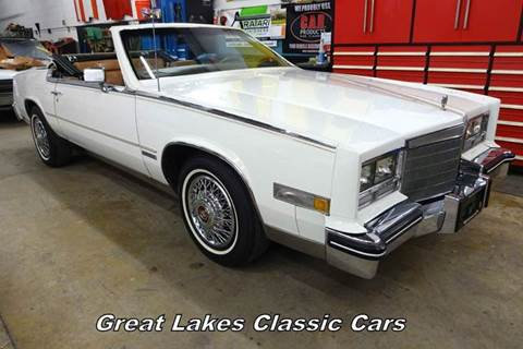 1983 Cadillac Eldorado for sale at Great Lakes Classic Cars in Hilton NY