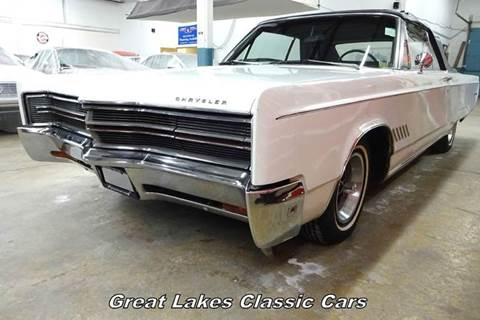 1968 Chrysler 300 for sale at Great Lakes Classic Cars & Detail Shop in Hilton NY