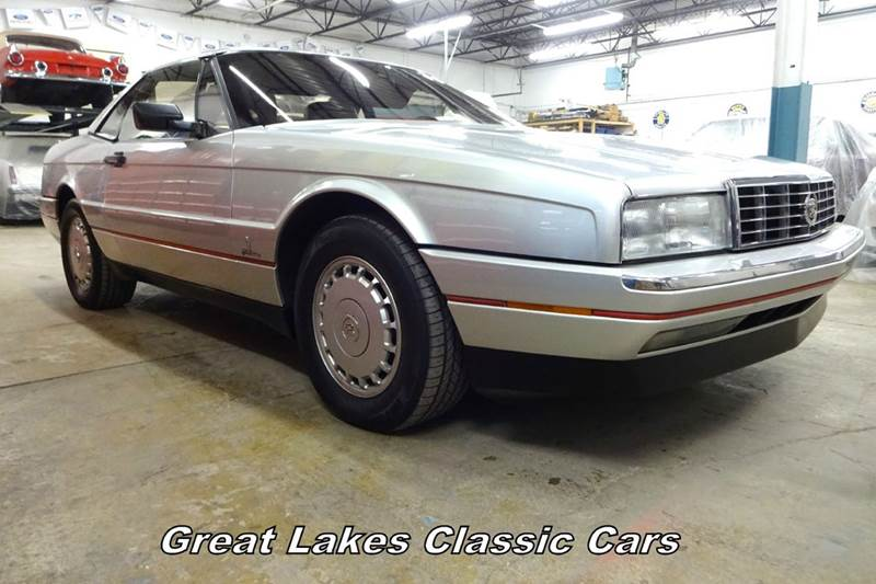 1987 Cadillac Allante for sale at Great Lakes Classic Cars & Detail Shop in Hilton NY
