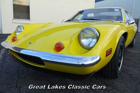 1974 Lotus Europa for sale at Great Lakes Classic Cars in Hilton NY