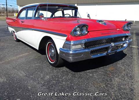 1958 Ford Fairlane for sale at Great Lakes Classic Cars & Detail Shop in Hilton NY