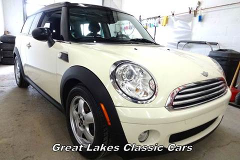 2008 MINI Cooper Clubman for sale at Great Lakes Classic Cars & Detail Shop in Hilton NY