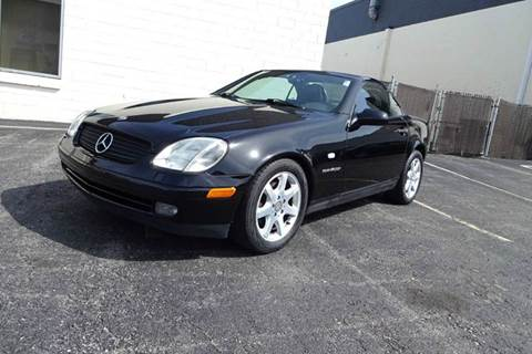2000 Mercedes-Benz SLK for sale at Great Lakes Classic Cars in Hilton NY