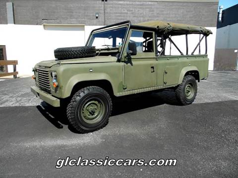 1987 Land Rover Defender for sale at Great Lakes Classic Cars & Detail Shop in Hilton NY