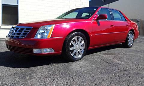 2007 Cadillac DTS for sale at Great Lakes Classic Cars in Hilton NY