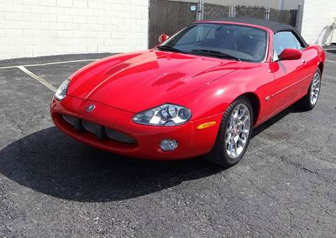 2002 Jaguar XKR for sale at Great Lakes Classic Cars in Hilton NY