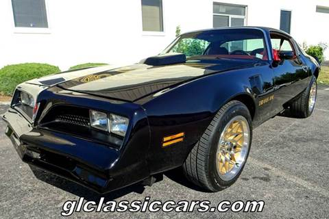 1978 Pontiac Trans Am for sale at Great Lakes Classic Cars & Detail Shop in Hilton NY