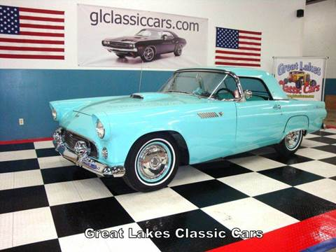1955 Ford Thunderbird for sale at Great Lakes Classic Cars in Hilton NY