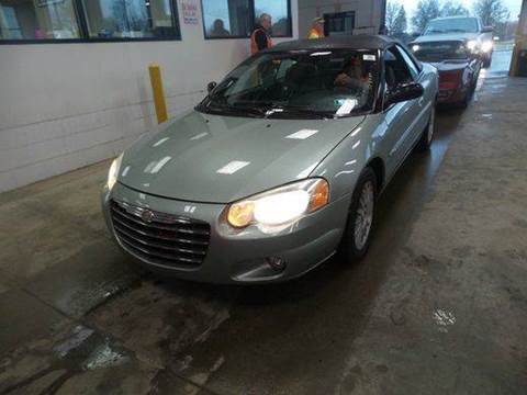 2005 Chrysler Sebring for sale at Great Lakes Classic Cars in Hilton NY