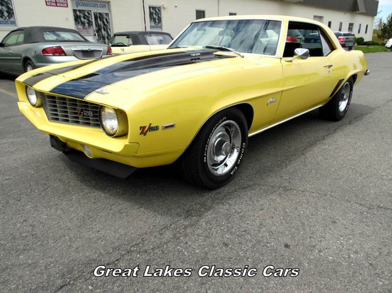 Chevrolet Camaro Z In Hilton NY Great Lakes Classic Cars - 1969 classic cars